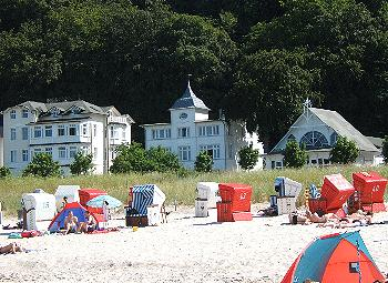 Ostseebad Binz/ Rügen: Strand