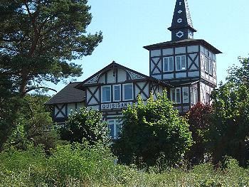 Ostseebad Binz/ Rügen: Bäderstilarchitektur