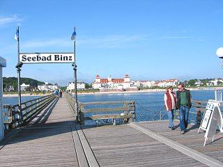 Ostseebad Binz/ Rügen:Seebrücke